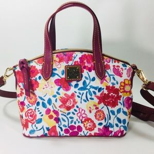 Dooney & Bourke Ruby floral mini satchel